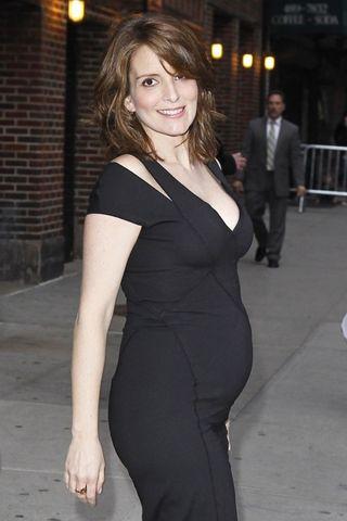 Tina-fey-pregnant